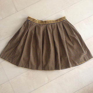 ジーユー(GU)のM キュロットスカート(ミニスカート)