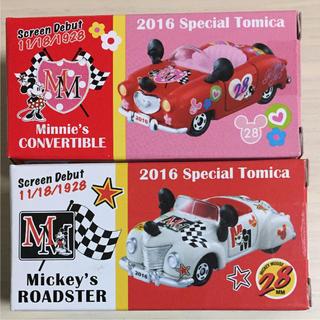 ディズニー(Disney)のディズニー トミカ スペシャルトミカ 2016 ロードスター コンバーティブル(ミニカー)
