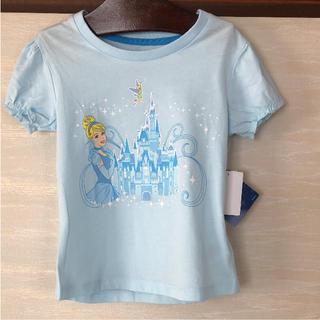 ディズニー(Disney)のシンデレラ 上海ディズニー Tシャツ カットソー キッズ  S サイズ コットン(Tシャツ/カットソー)