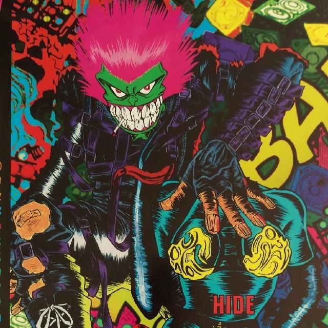 X Japan Hide イラスト ポスターの通販 By Violets Shopラクマ