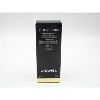 シャネル(CHANEL)のシャネル ル タン ウルトラ フリュイド 20 ベージュ 新品(ファンデーション)