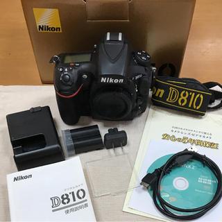 ニコン(Nikon)のニコン Nikon D810(デジタル一眼)