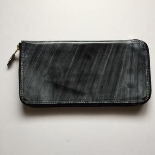 グレンロイヤル(GLENROYAL)のグレンロイヤル ラウンドジップ ウォレット ブラック(長財布)