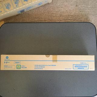 コニカミノルタ(KONICA MINOLTA)のコニカミノルタ TN324K 純正トナー ■イエロー(PC周辺機器)