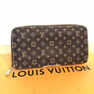 ルイヴィトン(LOUIS VUITTON)の正規品 ルイ ヴィトン モノグラム デニム ジッピーウォレット(財布)