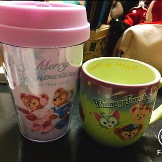 ディズニー(Disney)のダッフィー タンブラー&マグカップ2個セット(タンブラー)