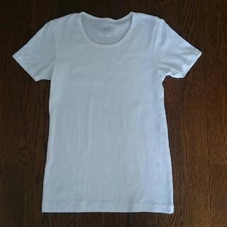 ムジルシリョウヒン(MUJI (無印良品))の未使用☆ 無印 白Tシャツ ☆(Tシャツ(半袖/袖なし))