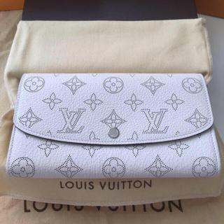 ルイヴィトン(LOUIS VUITTON)の新品未使用正規品ルイヴィトンポルトフォイユ・イリス マヒナ(財布)