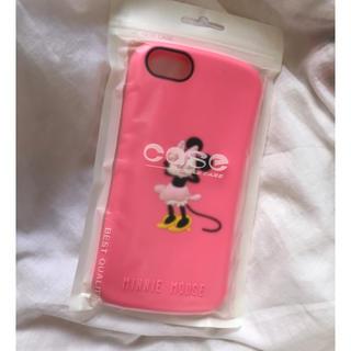 ディズニー(Disney)の新品❤︎ iPhone7/8 Disney ミニー ピンク カバー(iPhoneケース)