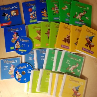 DVDストレートプレイ12枚+CD12枚!(知育玩具)