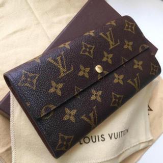 ルイヴィトン(LOUIS VUITTON)の美品です‼️正規品ルイヴィトンモノグラム長財布(財布)
