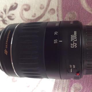 キヤノン(Canon)のCANON 55~200mm ズームレンズ(レンズ(ズーム))