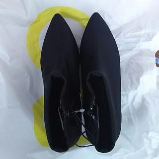 ジーユー(GU)のGU ソックスブーツSサイズ(ブーツ)