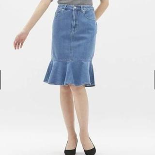 ジーユー(GU)のマーメイドスカート(ひざ丈スカート)