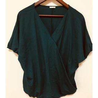 ジーユー(GU)のカシュクール ドルマン T(Tシャツ(半袖/袖なし))