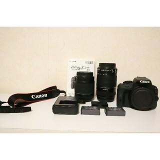 キヤノン(Canon)のCanon EOS Kiss x7 ダブルズームキット【即日発送可】(デジタル一眼)