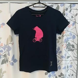 ジャンルーカジョルダーノ(Gianluca Giordano)の新品 GIORDANO Tシャツ ベアー ネイビー ジョルダーノ(Tシャツ(半袖/袖なし))