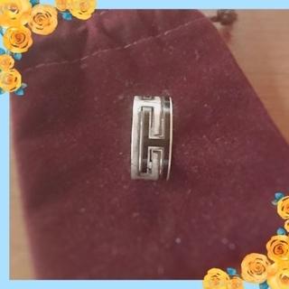 エルメス(Hermes)のエルメス ムーブアッシュリング☆黒☆正規品✨(リング(指輪))