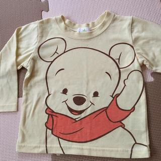 ディズニー(Disney)の[☆くまのプーさん☆]長袖カットソー 90㎝(Tシャツ/カットソー)