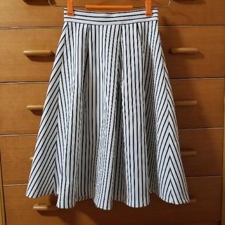 ジーユー(GU)のGU ストライプ スカート(ひざ丈スカート)