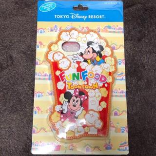 ディズニー(Disney)のディズニー パークフード トゥーンタウン iPhoneケース(iPhoneケース)