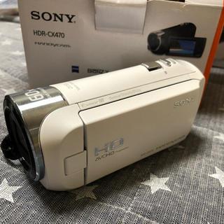 ソニー(SONY)のSONY ハンディカム HDR-CX470(ビデオカメラ)