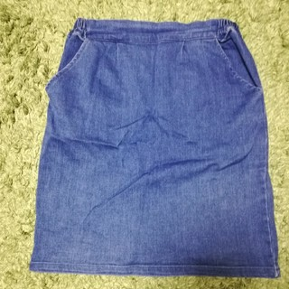 レトロガール(RETRO GIRL)のレトロガール★デニムスカート(ひざ丈スカート)