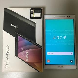 エイスース(ASUS)のASUS ZenPad Z380KL 美品 8インチ simフリー(タブレット)