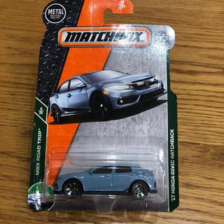 マッチボックス  17 ホンダ シビックハッチバック(ミニカー)