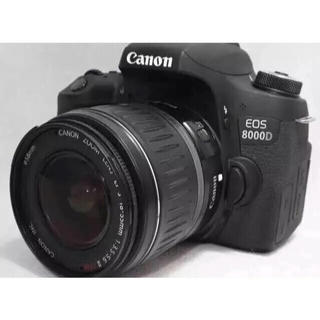 キヤノン(Canon)の☆大人気☆ Canon 8000D レンズキット おまけ付き(デジタル一眼)