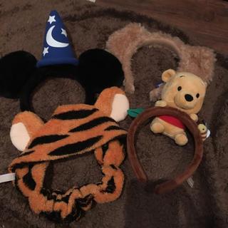 ディズニー(Disney)のディズニー カチューシャセット(キャラクターグッズ)