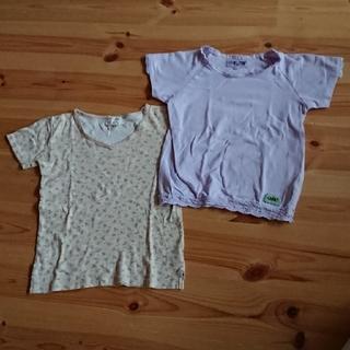 ハグオーワー(Hug O War)の半袖  Tシャツ  2枚  120 と130(Tシャツ/カットソー)