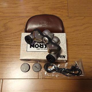 ニコン(Nikon)のNikon 双眼鏡 MIKRON 6x15 CF 送料無料(その他)