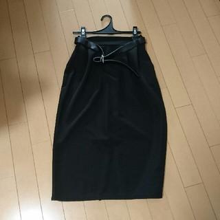 しまむら - しまむら タイトスカート 黒