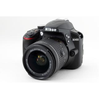ニコン(Nikon)の♥️Wi-Fi&自撮り♥️新品級♥️ ニコン D3400 レンズキット(デジタル一眼)