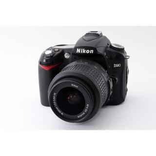 ニコン(Nikon)の★Wi-Fi対応♪美品★ニコン D90 レンズキット(デジタル一眼)