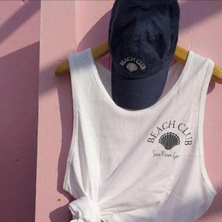 シールームリン(SeaRoomlynn)のSea Room Lynn 逗子海の家限定キャップ 新品 タグ付き(キャップ)