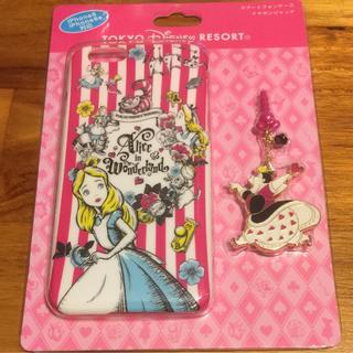 ディズニー(Disney)のiPhone6 アリス 定価2900円 ディズニーにて購入 一個(iPhoneケース)