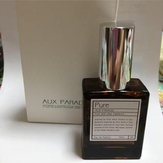 オゥパラディ(AUX PARADIS)のAUX PARADIS オードトワレ pure 15ml(香水(女性用))