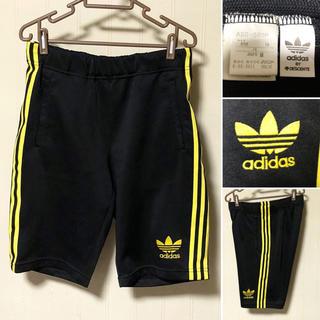 アディダス(adidas)の《激レア》90s 日本製 adidas originals ハーフパンツ 黒(ショートパンツ)