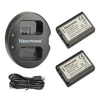 NP-FW50 互換バッテリー 2個 + 充電器 セットSony FW50