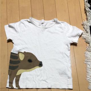 ムジルシリョウヒン(MUJI (無印良品))の無印 アニマル Tシャツ 120(Tシャツ/カットソー)