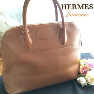 エルメス(Hermes)の正規品 エルメス ボリード37 クシュベル ダークブラウン バーキン(ハンドバッグ)