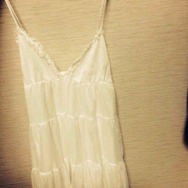 試着のみ白ベビードール レディースのルームウェア/パジャマ(ルームウェア)の商品写真