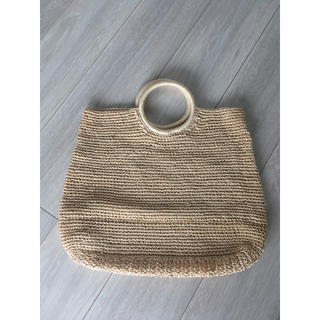ムジルシリョウヒン(MUJI (無印良品))の無印良品 雑材バッグ(かごバッグ/ストローバッグ)