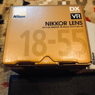 ニコン(Nikon)の美品 AF-P DX NIKKOR 18-55mm f/3.5-5.6G VR (レンズ(ズーム))