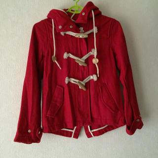 レトロガール(RETRO GIRL)のRETRO GIRL 赤色ダッフルコート(ダッフルコート)