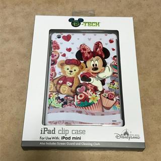 ディズニー(Disney)の海外ディズニー iPadmini4 ケース カバー ミニー ダッフィー(iPadケース)