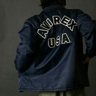 アヴィレックス(AVIREX)のAVIREX/アヴィレックス/コーチジャケット(ミリタリージャケット)