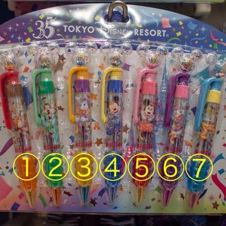 ディズニー(Disney)の【バラ売り☻】ディズニーランド 35周年 ボールペン (キャラクターグッズ)